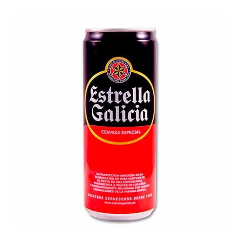 Cerveza estrella galicia 33cl