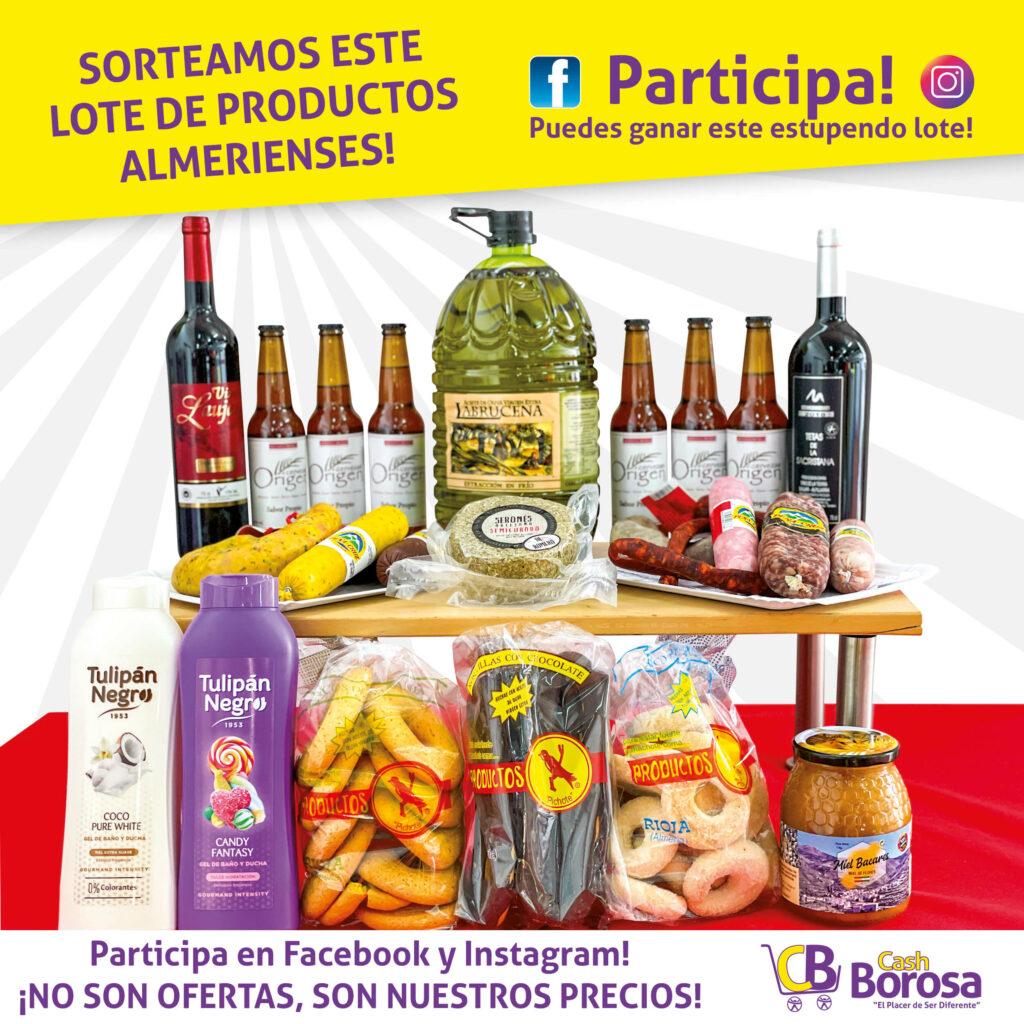 Productos de Almería de Cash Borosa
