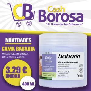 Mascarilla only curls Cash borosa