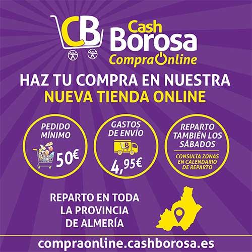 Cartel Cash Borosa Reparto