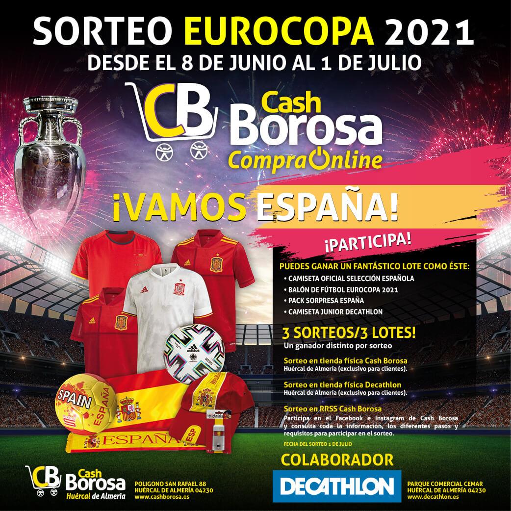 cartel sorteo eurocopa de fútbol 2021